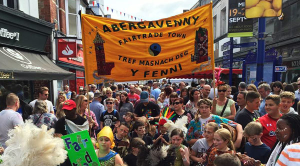 Aberergavenny FairTrade Banner